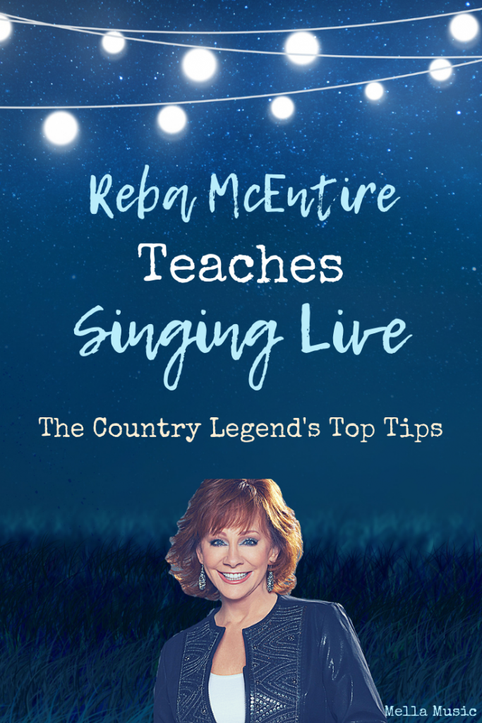 Reba McEntire's Top Tips for Live Singing!