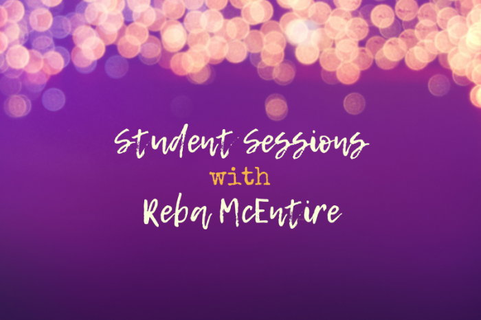 Reba McEntire's MasterClass Focusing on Live Student Performances