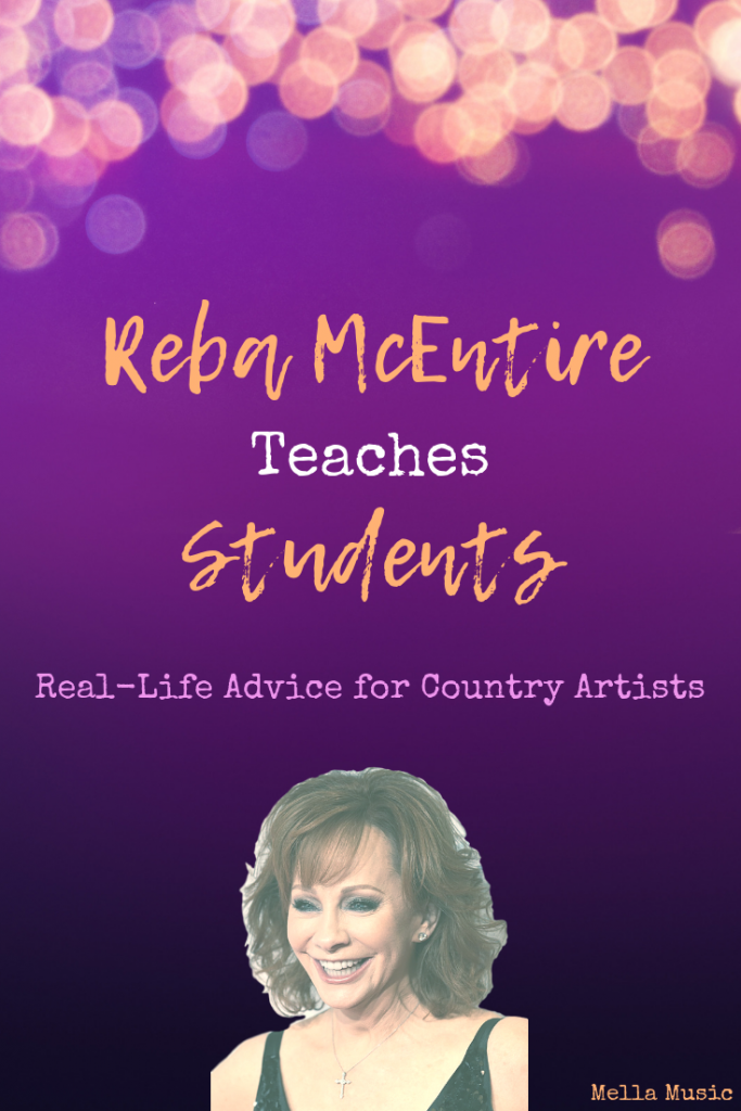 Learn from Reba McEntire's Students in a live MasterClass lesson!