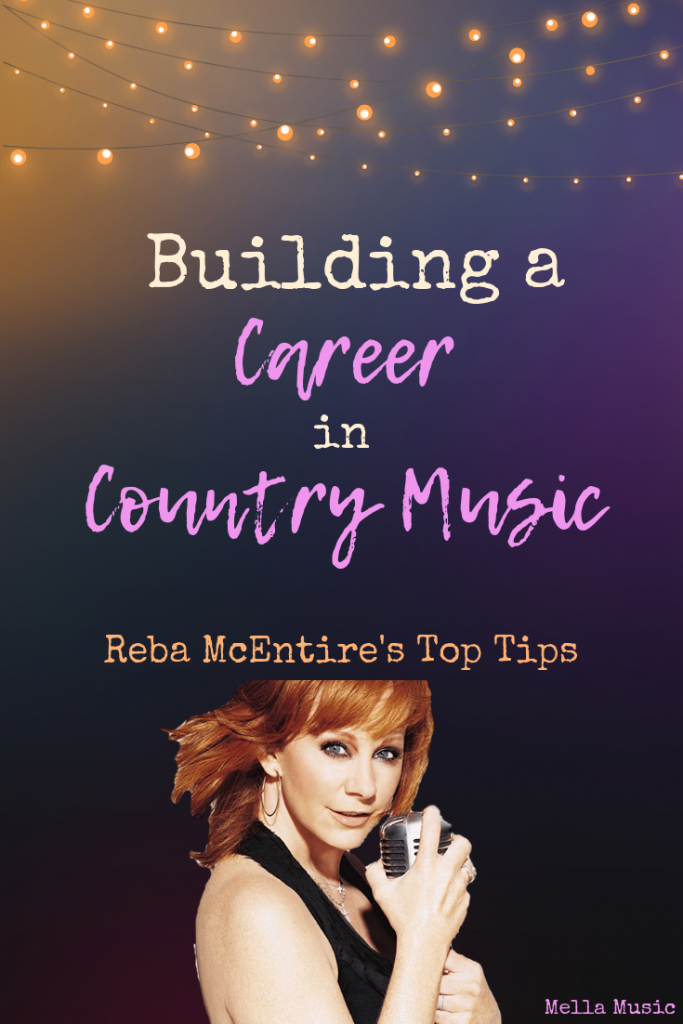 Reba McEntire gives her best tips on how to build a career in the music industry. #Singing #CountryMusic #MusicIndustry