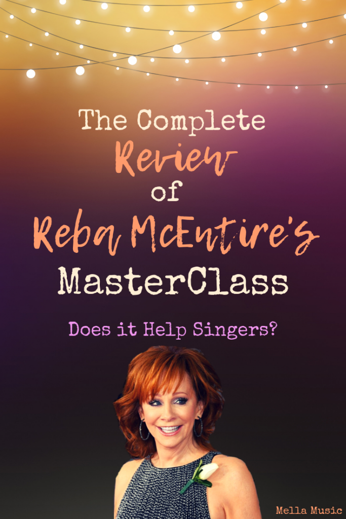 A Full Review of the Reba McEntire MasterClass for #Singers, #Songwriters and anyone interested in the #Music industry!