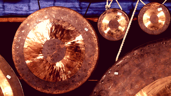 Gong Bath Therapy for #Singers