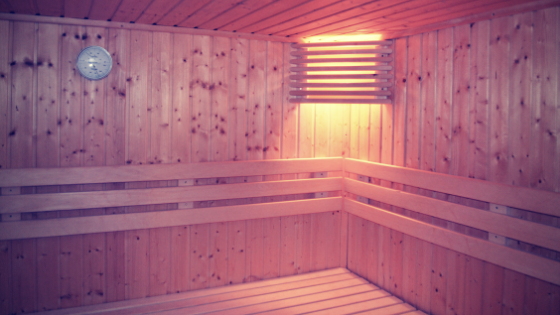 Trying a professional sauna for #vocalists