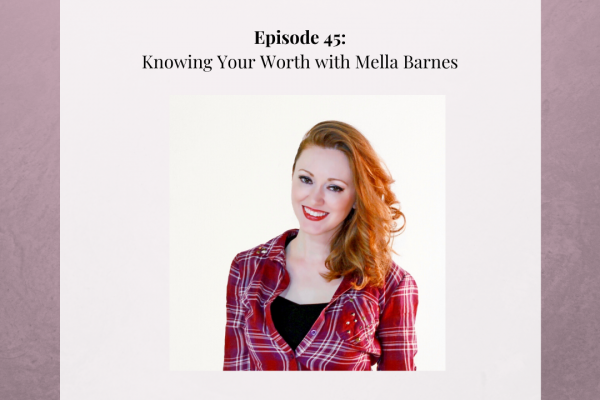 Broken Glass Podcast Mella Barnes